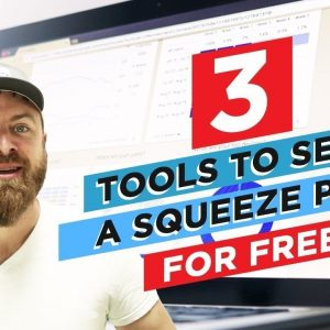3 Free Tools To Setup A Squeeze Page For Your Website