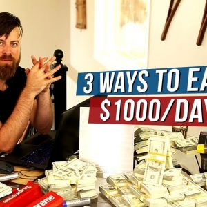 3 Passive Income Ideas To Make $1000 a Day