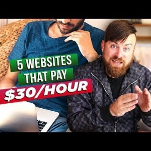 5 Ways To Make $30 Per Hour By Viewing Websites Online