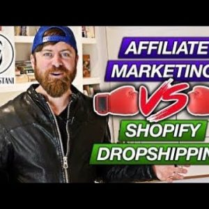 Affiliate Marketing Vs Shopify Dropshipping in 2021