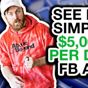 Facebook Ads Case Study With My $5,000/DAY Ad