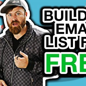 How To Build An Email List Fast And For Free