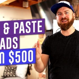 How to Copy and Paste Ads and MAKE $100-$500 DAILY! (Step by Step Training)