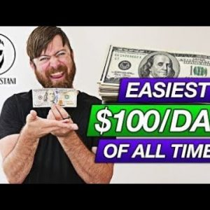 How To Earn $100 Per Day Taping Paper To Poles Easiest Strategy EVER
