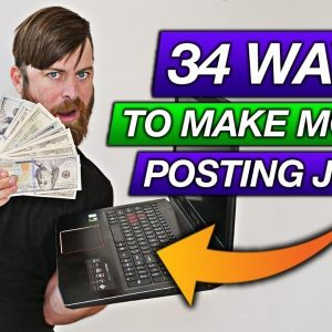 How To Earn Money Posting Jobs