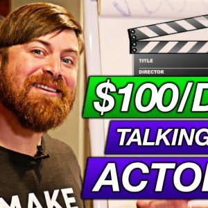 How To Make $100 A Day Talking To Actors