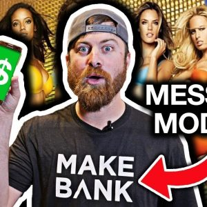 How To Make Money By Talking To Models | $100 Per Day