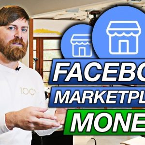 How To Make Money On The Facebook Marketplace | $100 Per DAY
