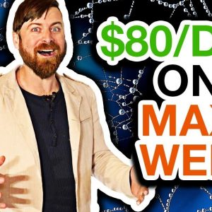 How To Make Money Online With MaxWeb Affiliate Program [$80 Bucks a Day]