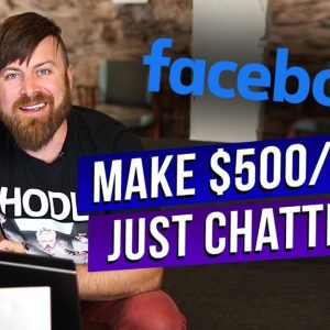How To Make Money With Chatting On Facebook