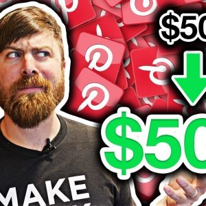 How To Make Money With Pinterest Ads | Turn $50 Into $500