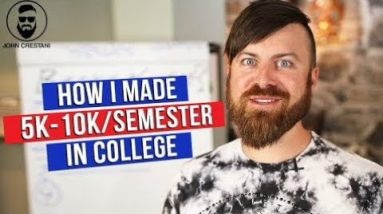 Top 5 Ways To Make $100 Per Day As A Broke College Kid