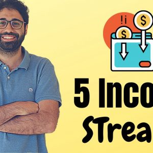 5 Smart Passive Income Streams: How I make 10K+ per month online in 2020