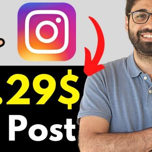 Earn 33.29$ Per Post - The Easiest Way To Make Money Online With Instagram.