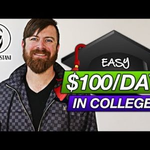 Earn $100 Per Day Posting Flyers At Colleges (EASY Money-Making Method)