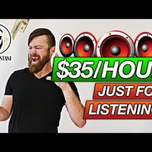 Earn $35 An Hour Just Listening (Get Paid To Transcribe)