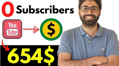 Earn 654$ on YouTube With 0 Subscribers! (99% Passive Income)