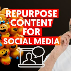 How To Repurpose Your Blog Content For Social Media | Content Marketing Strategy