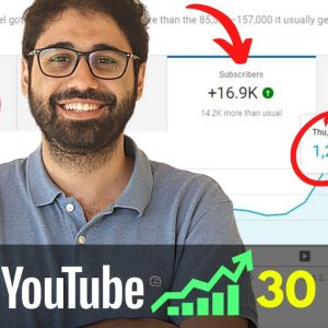 Get 1000 Subscribers on YouTube in 30 Days! (My Secret Strategies)