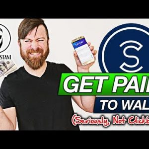 Get Paid To Walk (SERIOUSLY...Not Clickbait!)