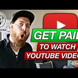 Get Paid To Watch YouTube Videos (SERIOUSLY, Not Clickbait!)