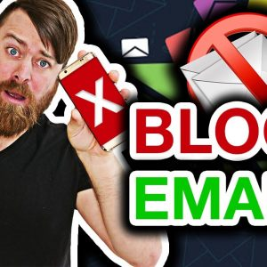 How To Block Emails On Gmail (And Make MONEY With Gmail)
