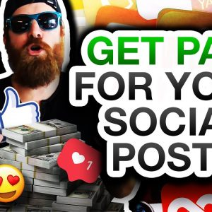 How To Get Paid For Your Social Media Posts (And Make BIG Money!)