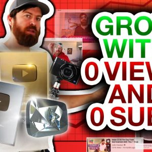 How To Grow On YouTube With 0 Views And 0 Subscribers