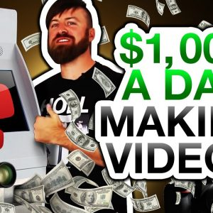 How To Make $1,000 A Day On YouTube