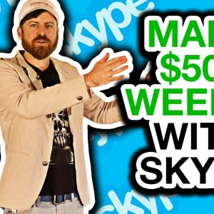 How To Make $500 Per Week With Skype (New UNIQUE Method)