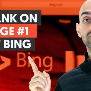 How to Rank on Page 1 of Bing | Bing SEO