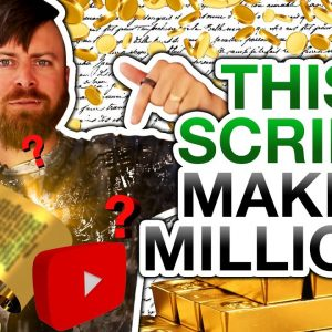 How To Script Youtube Videos To Make More Money (Million Dollar Script)