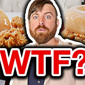 Millionaire Reacts To KFC Donut Sandwich TV Ad