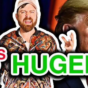 Millionaire Reacts To Trump 2020 TV Ad