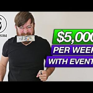 Earn $5,000 Per Week Hosting Local Events (On MeetUp, EventBrite And Facebook)