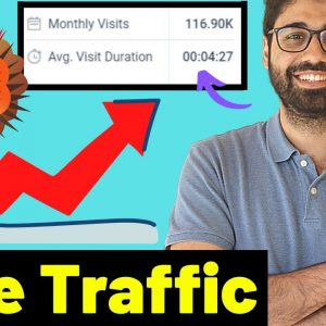 How To Get Free Traffic From 6 Free Websites! Traffic Bomber Method (2021)