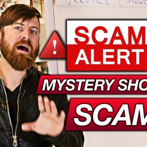 SCAM EXPOSED! Mystery Shopper Work At Home Job Scam