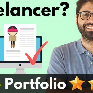 How To Create A Free Portfolio Website For Freelancing With Blogger Fast!