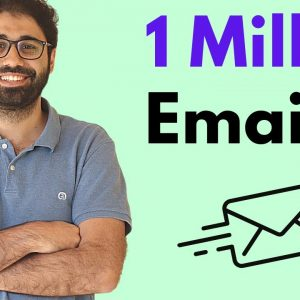 How to Send 1M Emails in Inbox? Real 5 Figures Email Marketing Case Study