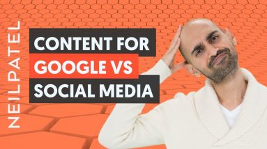 Why You Should Write Content For Google and Not Social Media