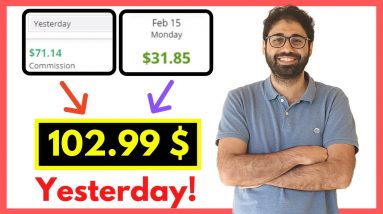 (102$ Per Day) How To Work From Home in 2021
