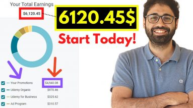 6000$/Month Online! How To Sell Online Courses (2021)