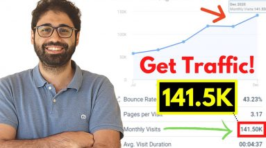 How To Get Traffic To Your Website 2021 🔥🔥 (Free Mastery Course)