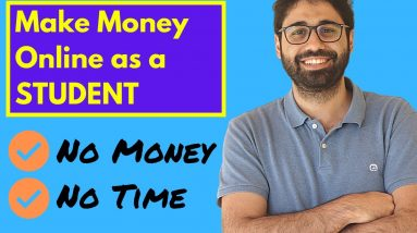 Make Money Online As A Student (300$/Month Action Plan)