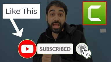How To Create Animated YouTube Subscribe Button Using Camtasia
