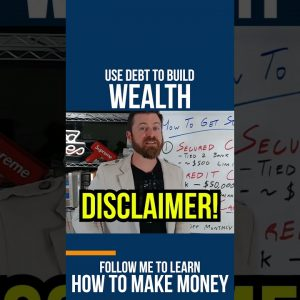 Use Debt to BUILD WEALTH #shorts