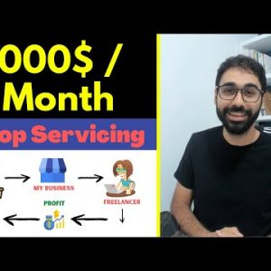 Drop Servicing For Beginners (How To Make 1000$ / Month)