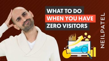 If You Have ZERO Website Visitors, Do THIS First   Optimizing a New Website For Organic Traffic