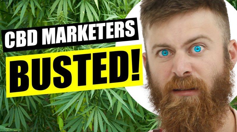 CBD Marketers BUSTED by the FTC!
