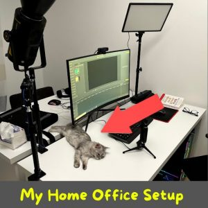 My Home Office Setup in 60 Seconds #Shorts